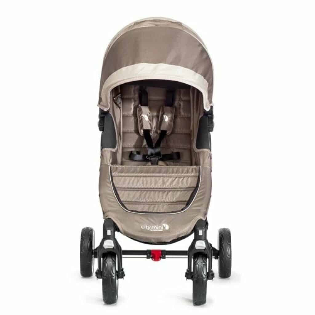 Baby Jogger City Mini 4 fronte strada