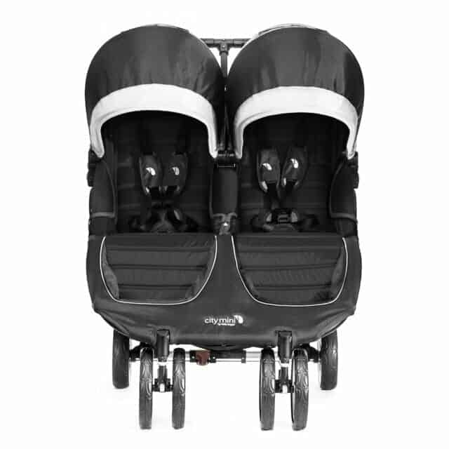 Baby Jogger City Mini Double  fronte strada