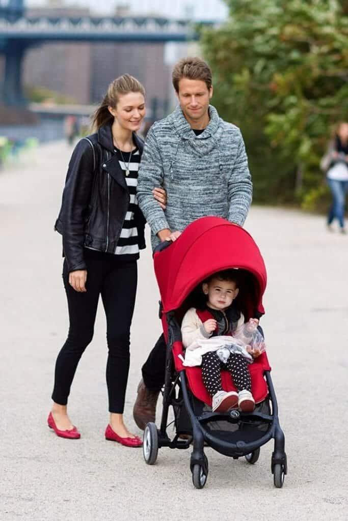 Baby Jogger City Mini Zip fronte strada