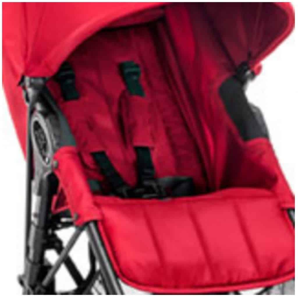 Baby Jogger City Mini Zip poggiapiedi regolabile