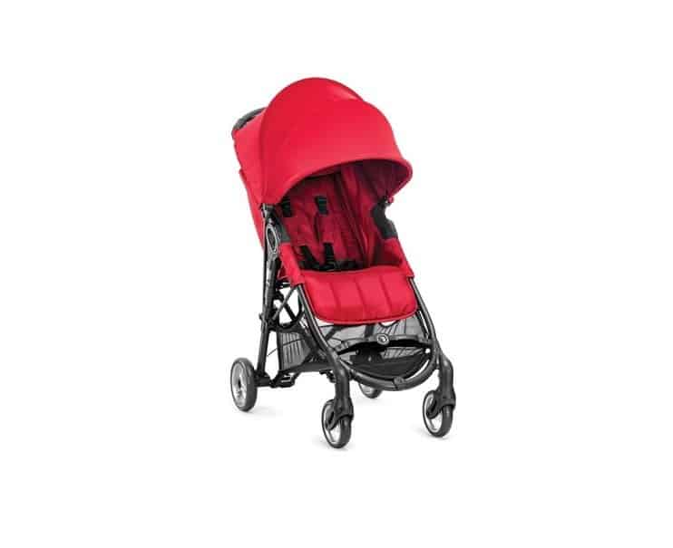 Baby Jogger City Mini Zip rosso
