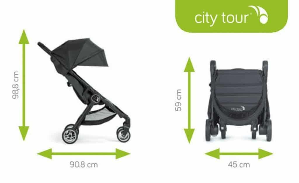 Baby Jogger City Tour dimensioni