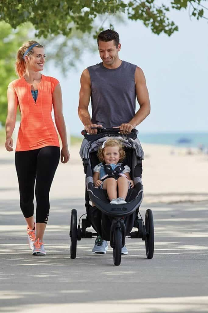 Baby Jogger Summit X3 fronte strada
