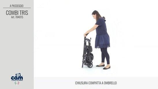 CAM Sistema Modulare Combi Tris chiusura ad ombrello