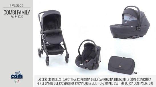 CAM Sistema modulare Combi Family acessori inclusi