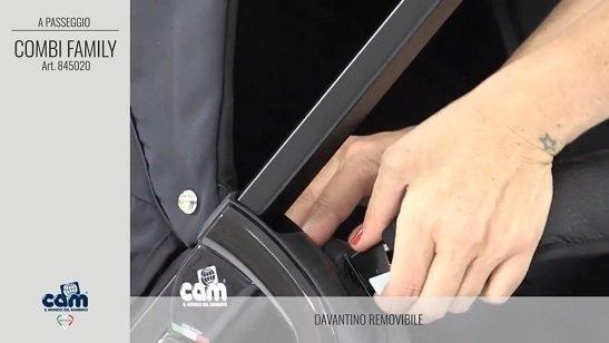 CAM Sistema modulare Combi Family barra di sicurezza removibile