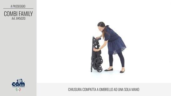 CAM Sistema modulare Combi Family chiusura a ombrello