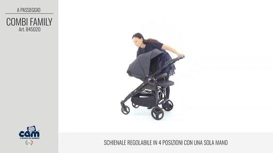 CAM Sistema modulare Combi Family schienale regolabile