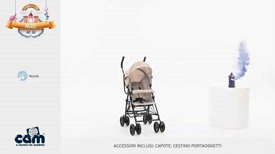 Cam Agile acessori inclusi