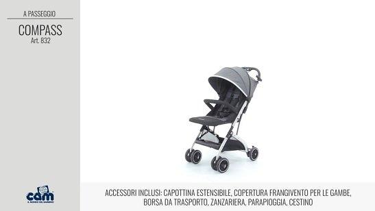 Cam Compass acessori inclusi