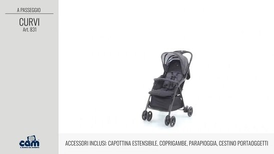 Cam Curvi acessori inclusi