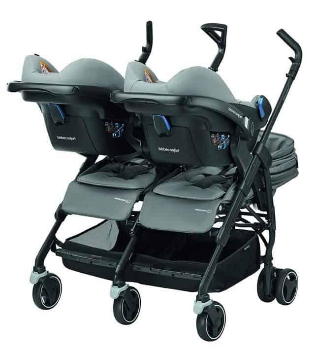 Bébé Confort Dana For2 con seggiolino auto