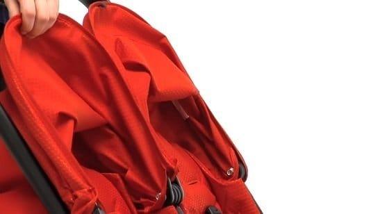Peg Perego Aria Shopper Twin capotte estensibili