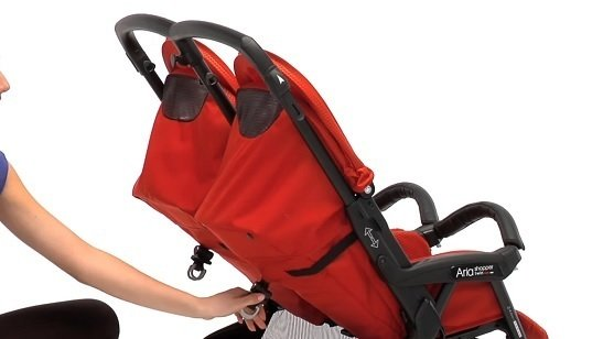 Peg Perego Aria Shopper Twin schienale reclinabile