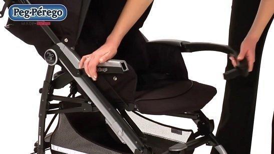 Peg Perego Pliko P3 Compact barra di sicurezza removibile