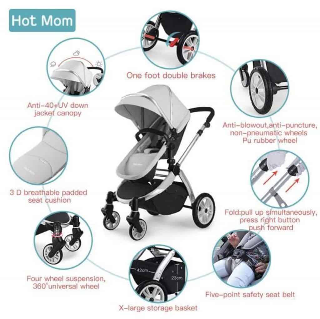 Hot mom buggy acessori